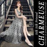 6mm напечатали Silk Charmeuse для Silk ткани платья