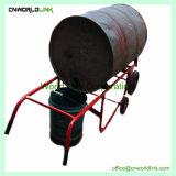 鋼鉄モデル移動オイルドラムカートのドラムトロリー