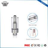 Knop-V4 de hoogste het Verwarmen van de Luchtstroom Ceramische Elektrische Sigaret van de Patroon van Vape van het Glas van de Kern 0.5ml