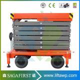 Ce/ISO Certificatie Lift van de Schaar van Hudraulic van 6m Hoogte de Mini