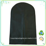 De milieu Zwarte Zak van het Kostuum van het Kledingstuk van het Bewijs van het Stof van de Kleren van de Verbinding van de Ritssluiting van pp niet Geweven Verpakkende