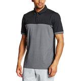 La chemise 100% de polo de Mens de mode de coton avec personnalisent le logo