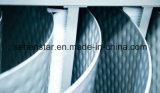 응용, 넓은 채널 폐수 열회수 열교환기를 가공하는 서류상 및 화학제품에 있는 기체 제거