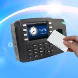 生物測定の指紋およびID (TFT600/ID)を用いるRFIDのカードの時間出席