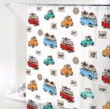カートンの多彩な車PEVAは浴室のためのシャワー・カーテンを防水する