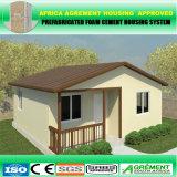 Casa viva prefabricada del tiempo largo del edificio prefabricado de la estructura del marco de acero