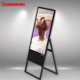 43 polegadas SP1000cms (B) Bens Móveis Suporte Banner Display LCD com sistema de gerenciamento de conteúdo