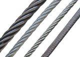 Fune metallica galvanizzata E. galvanizzata del TUFFO caldo con l'alta qualità