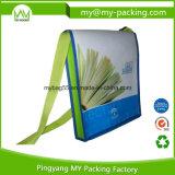 광고 BOPP에 의하여 박판으로 만들어지는 어깨에 매는 가방 부직포 부대