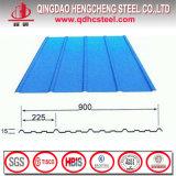 Azulejos de material para techos de acero revestidos coloridos del material de construcción
