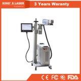 Linha de produção sanitária máquina de Ipg de gravura do laser