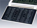 Будильник таблицы стола Ультра-Тонкой створки карманн перемещения цифров многофункциональный с индикацией температуры даты