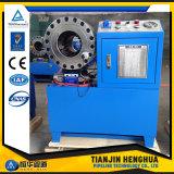 Máquina que prensa modificada para requisitos particulares Ce/arrugador del último manguito