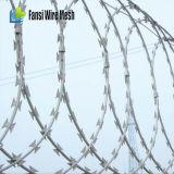 空港のための最大境界の保護かみそりワイヤー刑務所の塀