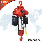 электрическая таль с цепью 10t с оборудованием крюка поднимаясь