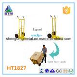 Ht1827, das Handlaufkatze der Kapazitäts-200kgs mit faltbarer Platte faltet