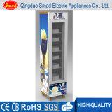 Замораживатель индикации замораживателя Countertop двери Smad одиночный стеклянный