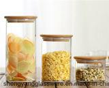 Gute Qualitätshohes Borosilicat-Glas-Glas mit hölzerner Kappe