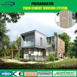 최신 직류 전기를 통한 강철 구조물 기성품 2개의 지면 조립식 가옥 집