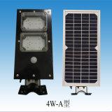 1개의 태양 가로등에서 4W LED 전부