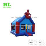 子供のための涼しい英雄の主題の膨脹可能な跳躍の警備員