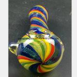 Farben-Glaswasser-Rohr für das Glas, das Öl-Pfeife aufbereitet
