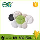 Одноразовые Bio на основе экологически безопасные кукурузного крахмала пластиковые пластины для группы