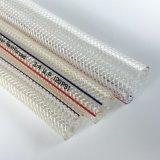 Tuyau en PVC tressé en fibre de lait de qualité alimentaire de la bière du tuyau de tubes de l'eau potable