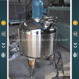 Tank van het Mengapparaat van het roestvrij staal de Koepelvormige