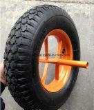Landwirtschaftliches pneumatisches aufblasbares Gummirad für Schubkarre-Reifen-Gummireifen