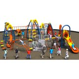 Для использования вне помещений игровая площадка для детей серии поднимающегося парков