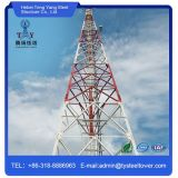 Antena de microondas de aço Angular torre de telecomunicações