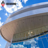 Serbia CCTV center eXternal Decoration 4mm Aluminum barrier panel (AF-370)
