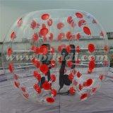新しいデザイン方法膨脹可能な腹販売D5001のための豊富な球ボディZorbingの泡球