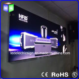 AluminiumFrame 3p Fabric Poster LED Light Box Sign für Advertizing Billboard