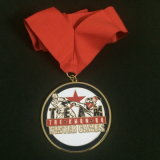 Medalhas macias do esmalte da liga feita sob encomenda do zinco