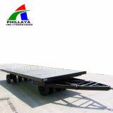 Neuer 4 Wellen-LKW-voller Flachbettzugpendel-Schlussteil für Verkauf