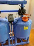 Deux cylindres du sable de quartz de 54 pouces des médias de l'irrigation au goutte à goutte du système de filtration de l'équipement de filtre à eau
