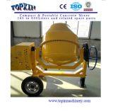 De hete Mixer van het Cement van 650 Liter van de Machines van de Bouw van de Verkoop Beweegbare