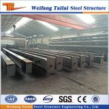 Las vigas de acero y columnas para la construcción de la estructura de acero