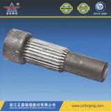 Forjando a tubulação de aço inoxidável para as peças de maquinaria