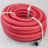 """Rouge Jaune 3/4"""" X 100 pieds en caoutchouc flexible Jackhammer d'air"""