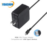 Asus를 위한 45W 유형 C 힘 접합기 USB-C Pd 휴대용 퍼스널 컴퓨터 충전기