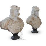De uitstekende Marmeren Mislukking van het Ornament in Antieke Stijl