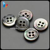 Negro de alta gama MOP 4 agujeros del botón de Shell