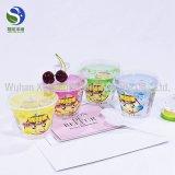 Пользовательский логотип печати йогурт пластмассовые чашки