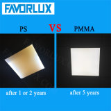 2X2 Non-Flickering Square éclairage du panneau de plafond modulable par LED