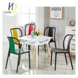 PP 플라스틱 식사 의자 2 분리된 색깔을 겹쳐 쌓이는 베스트셀러 복사