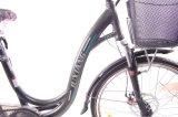 디스크 브레이크 합금 프레임 전기 도시 자전거
