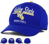 Black Brushed Cotton Twill Sports Baseball Hat